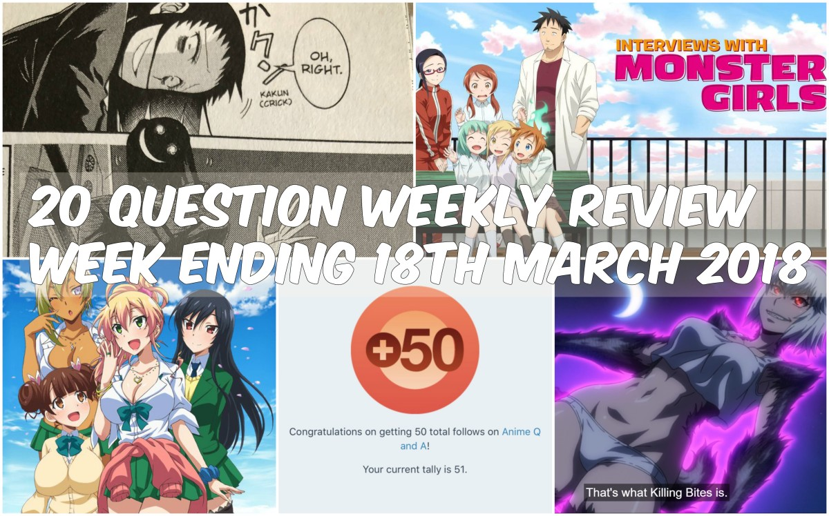 20 Question Weekly Review Week Ending 18th March2018