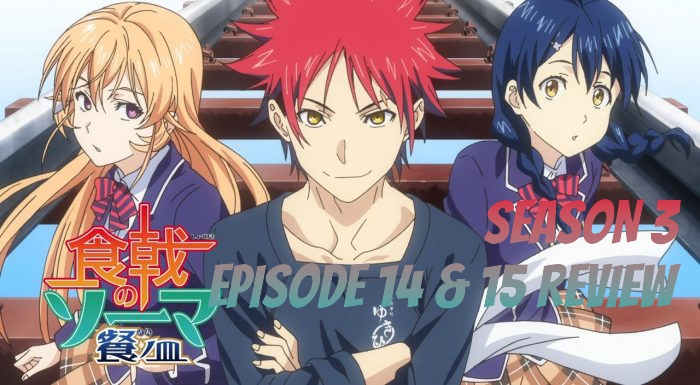 Food Wars! The Third Plate Episode 14 & 15 – Anime QandA Review