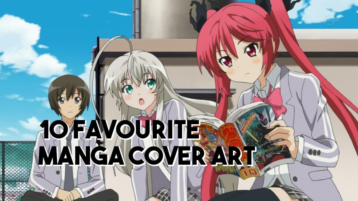 10 Favourite Manga Cover Art (Series) – ListingCompulsive