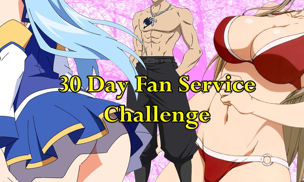 Day 12- Sexiest Uniform (30 Day Anime Fan Service Challenge)