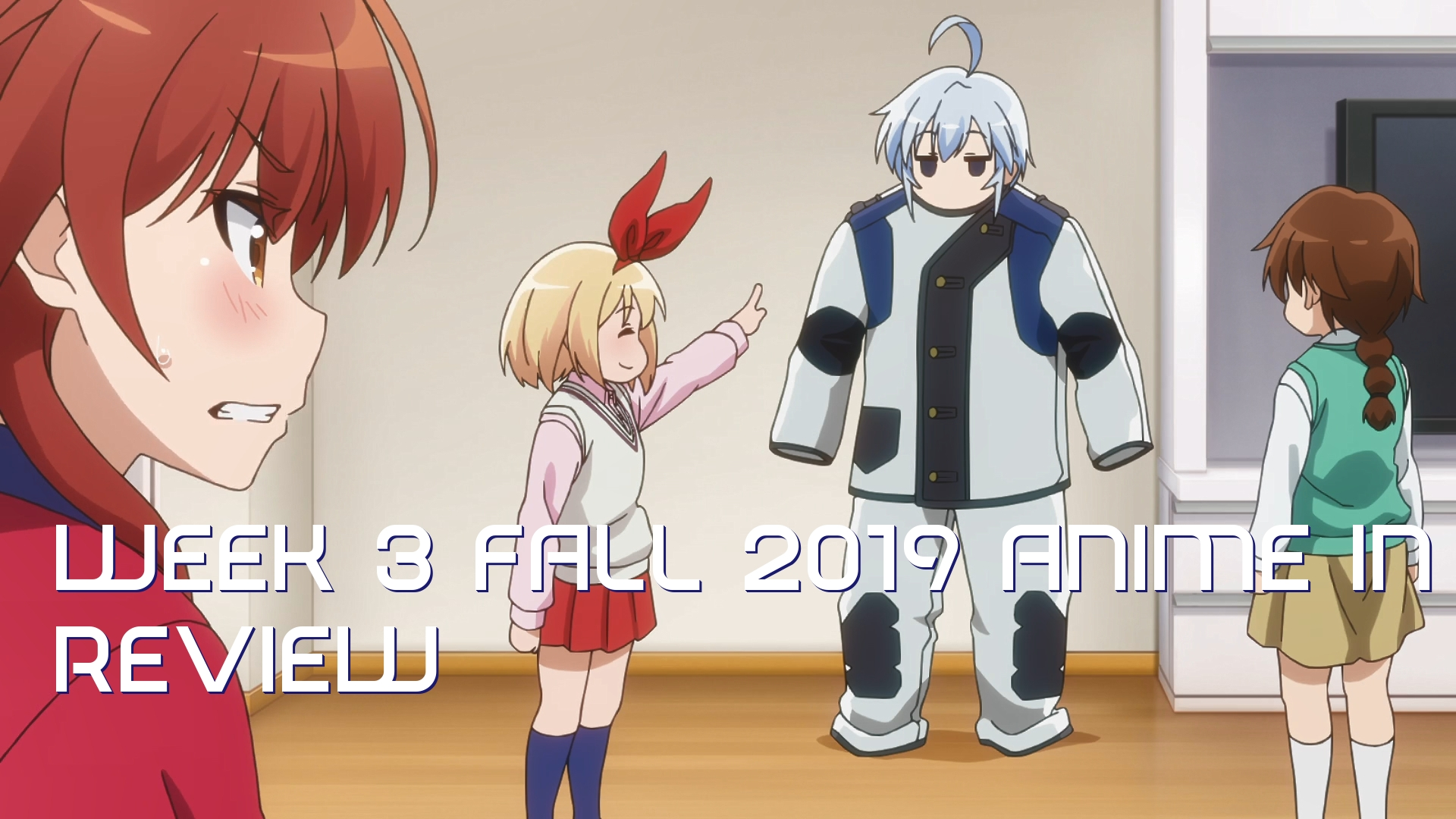 Week 3 of Fall 2019 Anime In Review